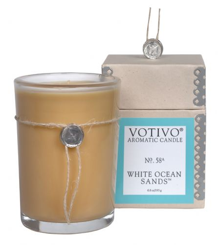 Aromatic Candle - White Ocean Sands